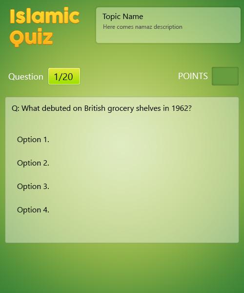 Islamic Quiz - General Knowledge Part 2 - ProProfs Quiz